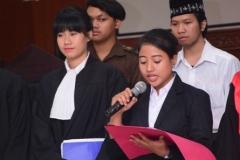 Fakultas Hukum Adakan Kompetisi Peradilan Semu Internal (7)