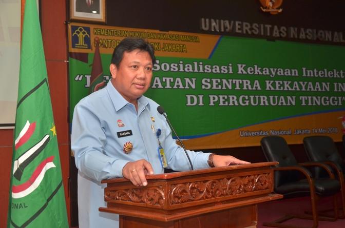 Fakultas Hukum UNAS & KEMENHUMKAM RI adakan Sosialisasi Kekayaan Intelektual (10)