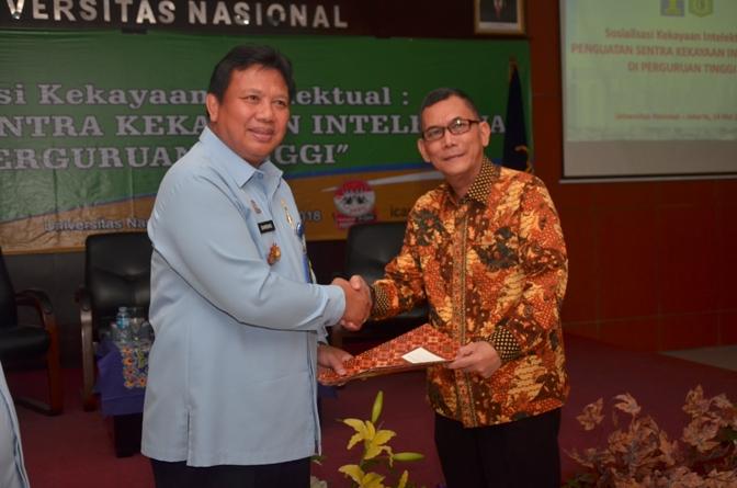 Fakultas Hukum UNAS & KEMENHUMKAM RI adakan Sosialisasi Kekayaan Intelektual (11)