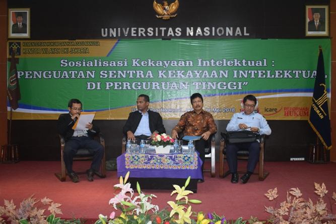 Fakultas Hukum UNAS & KEMENHUMKAM RI adakan Sosialisasi Kekayaan Intelektual (3)