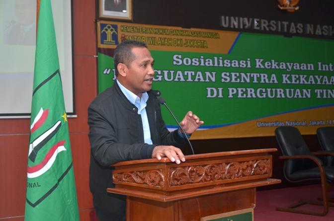 Fakultas Hukum UNAS & KEMENHUMKAM RI adakan Sosialisasi Kekayaan Intelektual (9)