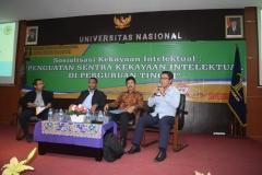 Fakultas Hukum UNAS & KEMENHUMKAM RI adakan Sosialisasi Kekayaan Intelektual (4)