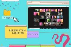 Seluruh peserta yang hadir dalam acara webinar Virtual Travel Edition The Paradise Of Culture 'Tana Toraja' pada Sabtu 09 Januari 2021