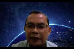 Dosen Fakultas Ekonomi dan Bisnis Universitas Nasional Drs. Suadi Sapta Putra, M.M., selaku Moderator pada Lecture Series : Academic Entrepreneurship, diselenggarakan oleh FEB UNAS pada hari Kamis, 9 September 2021