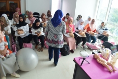 FIKES adakan Training Baby Spa & Massage Untuk bidan (7)