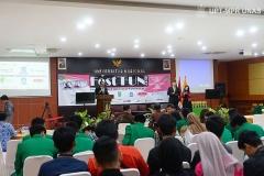 Fest Fun 2019 (Festival Film Universitas Nasional 2019), di Auditorium blok 1 lantai 4 Unas pada Senin, 28 Oktober 2019