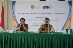 Gandeng BSN, UNAS Berencana Standarisasi Laboratorium (8)
