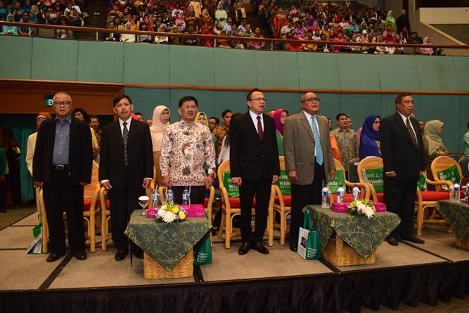 Tamu VIP Saat Menyanyikan Lagu Indonesia Raya