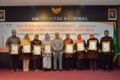 Foto Bersama Rektor Universitas Nasional