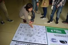tanda tangan untuk dukungan