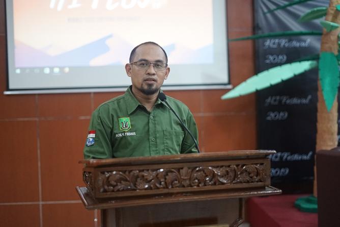 Wakil Dekan Bidang Kemahasiswaan Aos Yuli Firdaus, S.IP., M.Si.