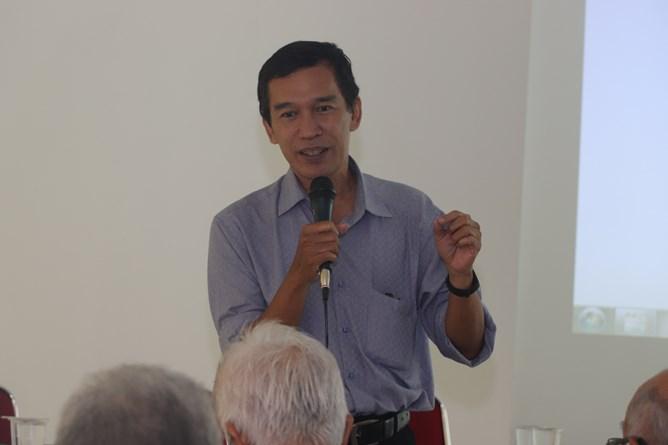 Kepala Prodi Magister Biologi ,Dr. Tatang Mitra Setia, M.Si.