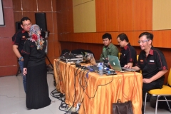 Persiapan Akoe Indonesia sebelum presentasi