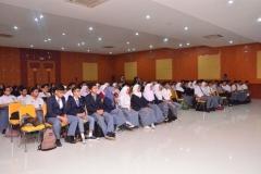 Kemeriahan acara kuliah umum hubungan internasional