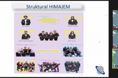 """Sharing section oleh HIMAJEM UNAS Jakarta dalam acara HIMAJEM Visit (Studi Banding dan Company Visit) dengan tema """"Build a Relation and Sharing Ideas about Management with HIMAJEM UNAS 2021"""" pada tanggal 14-15 September 2021"""