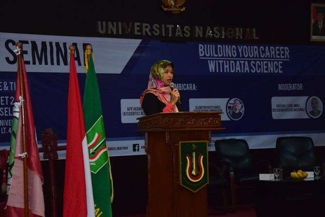 Himasi Ajak Mahasiswa Kembangkan Data Science (2)