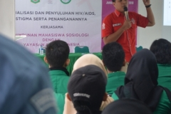 Himasos & Yayasan Aids Indonesia Adakan Penyuluhan HIV-AIDS (2)