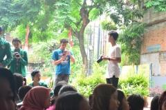 Himpunan Mahasiswa Ilmu Komunikasi Universitas Nasional (HIMAKOM UNAS) melangsungkan kegiatan Pengabdian Kepada Masyarakat (PKM), di Ruang Publik Terpadu Ramah Anak (RPTRA) Malinjo (3)