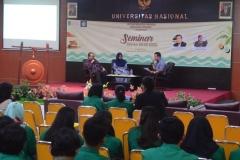 kemeriahan seminar
