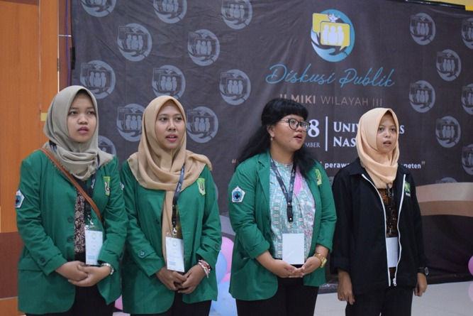 Ikatan Lembaga Mahasiswa Ilmu Keperawatan Indonesia (ILMIKI) melangsungkan diskusi Undang-Undang dan Praktik Keperawatan (16)