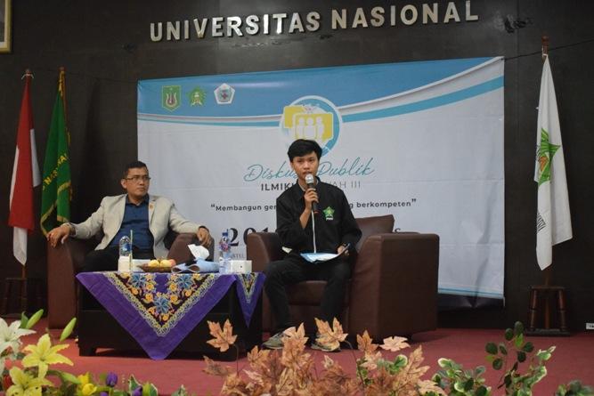 Ikatan Lembaga Mahasiswa Ilmu Keperawatan Indonesia (ILMIKI) melangsungkan diskusi Undang-Undang dan Praktik Keperawatan (26)