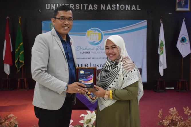 Ikatan Lembaga Mahasiswa Ilmu Keperawatan Indonesia (ILMIKI) melangsungkan diskusi Undang-Undang dan Praktik Keperawatan (28)