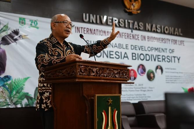Peneliti Lembaga Ilmu Pengetahuan Indonesia (LIPI) Prof. Dr. Dedi Darnaedi