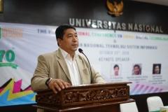 Prof. Iskandar Fitri dalam sambutannya