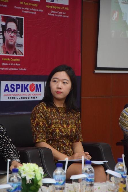 Speaker Park Jin-Young, Second Secretary for Political Affairs Kedutaan Korea