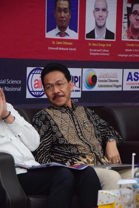 Speaker Prof. Dr. Syarif Hidayat, MA