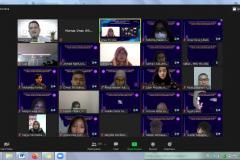 Para peserta yang mengikuti seminar internasional Prodi Hubungan Internasional