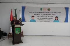 Sambutan oleh Ns. Iwan, S. Kep Selaku ketua DPD PPNI Jak-sel