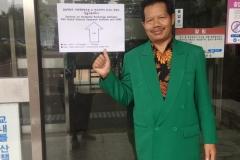 Dekan Fakultas Sastra Drs Somadi, M.Pd