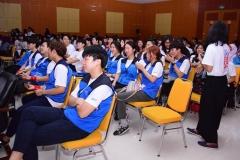 Kegiatan mahasiswa UNAS dengan Chung-Ang University Korea