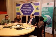 MOU Universitas Nasional dengan Cyber Hankuk University Of Foreign Stugies