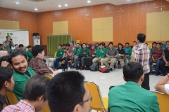 Suasana kegiatan diskusi BSN