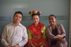 Foto bersama Pelatih Tari bersama penari