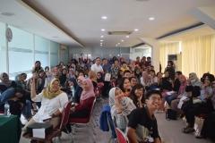 Foto bersama peserta Dissemination on Study Aboard Program 2019