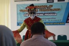 Penampilan Tari dalam acara Dissemination on Study Aboard Program 2019