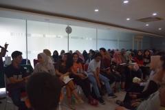 Suasana Diskusi acara Dissemination on Study Aboard Program 2019