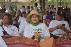 Dr. Retno Widowati, M.Si dalam perayaan Dies Natalis UNAS ke 70 tahun