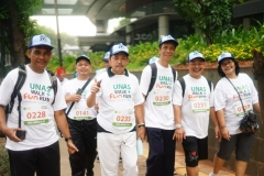 Fun Walk & Fun Run Dies Natalis UNAS ke 70 tahun
