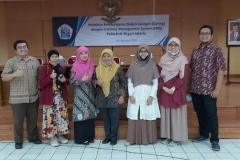 Alumni Prodi Manajemen Pascasarjana UNAS, menjadi tim evaluasi Kurikulum.Program D-3 Manajemen Pemasaran WNBK di Politeknik.Negeri Jakarta bulan.November 2019