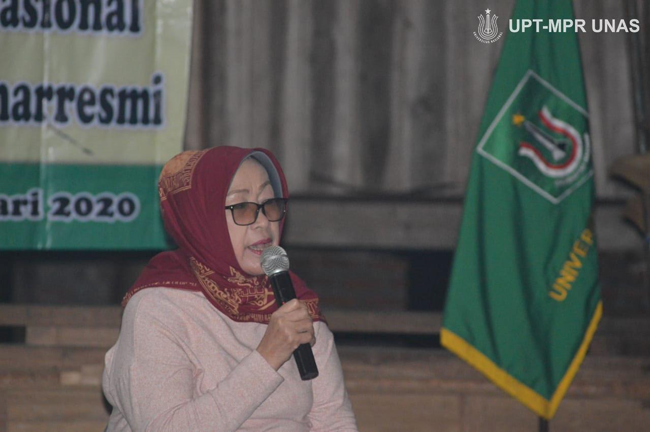 Penyuluhan hukum keluarga oleh ibu Hj. Ermasyanti S.H,.M.Hum