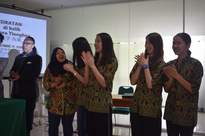 Perayaan satu tahun Pusat Kajian Budaya Tionghoa Universitas Nasional (3)