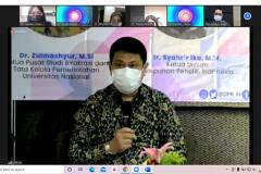 Dr.-Zulmanshyue-MSi-Ketua-Pusat-Studi-Birokrasi-dan-Tata-Kelola-Pemerintahan-UNAS-Sebagai-Narasumber