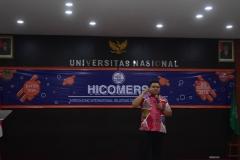 Pengisi Materi Mahadi Rahman Harahap, M.Si Alumni HI UNAS