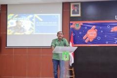 Sambutan dari Dekan FISIP Dr. Zulkarnian, S.IP, M.SI