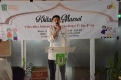 Sambutan Ketua Pelaksana Muhammad Farras