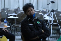 Ketua Program StudiHukum Unas, Masidin, S.H., M.H. dalam kegiatan wawancara.